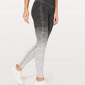 Lululemon Wunder Under Hi-Rise Tight Ombre Melange